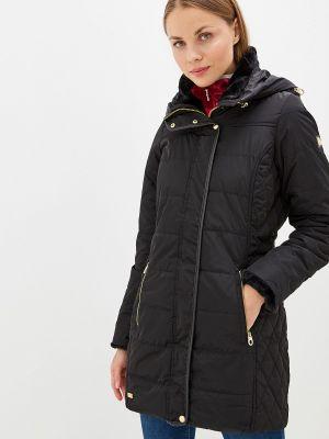 Утепленная куртка черная осенняя Regatta