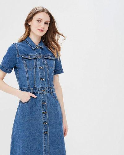 Джинсовое платье рубашка Incity