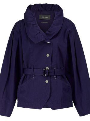 Синяя джинсовая куртка Isabel Marant