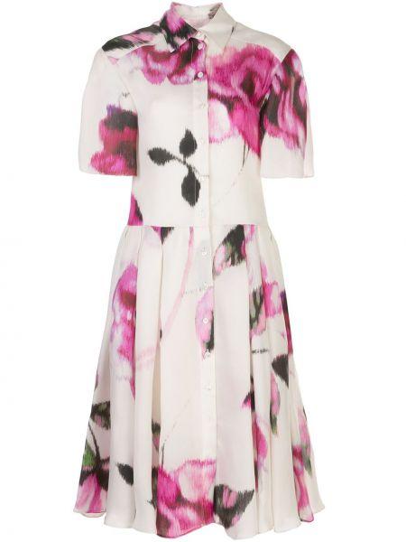 Платье мини миди на пуговицах Carolina Herrera