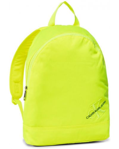 Żółty plecak Calvin Klein Jeans