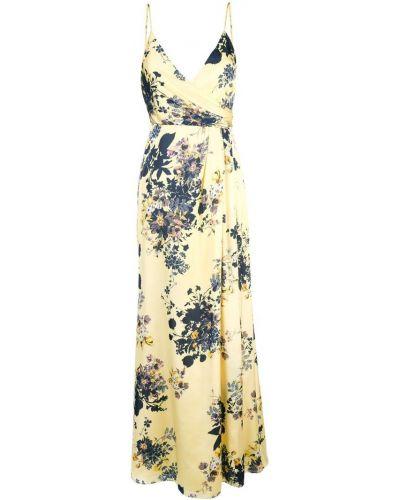 Платье макси с запахом на бретелях Jill Jill Stuart