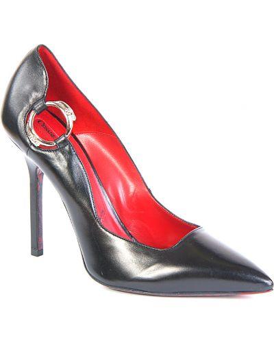 Кожаные туфли на каблуке Cesare Paciotti