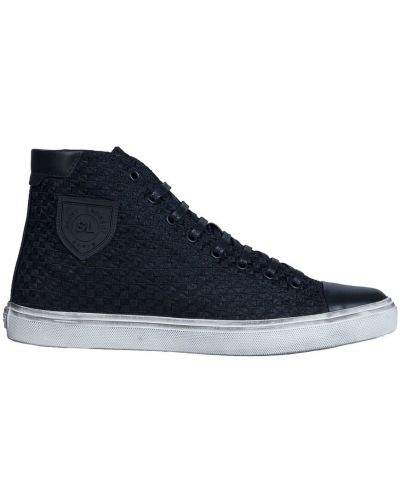 Sneakersy sznurowane koronkowe Saint Laurent
