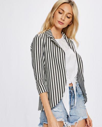 Пиджак с рукавом 3/4 классический без застежек в стиле кэжуал Answear