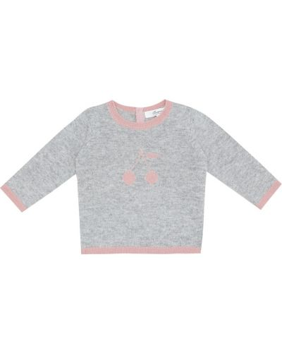 Теплый кашемировый свитер Bonpoint