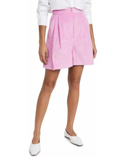 Шорты на резинке - розовые Rachel Comey