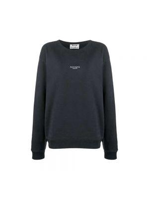 Bluza bawełniana - czarna Acne Studios