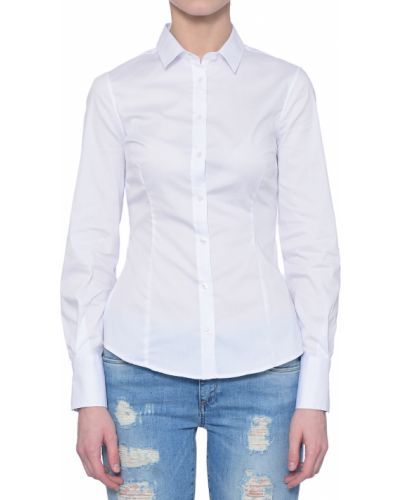 Рубашка белая Trussardi Jeans