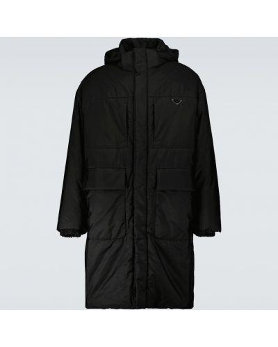 Płaszcz przeciwdeszczowy - czarny Prada