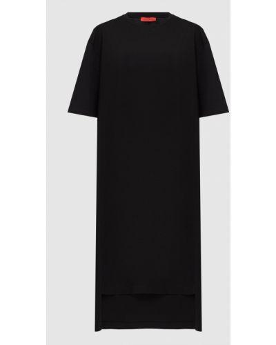 Платье миди - черное Max & Co