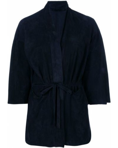 Пиджак замшевый приталенный Salvatore Santoro