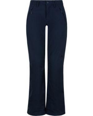 Синие нейлоновые теплые брюки сноубордические Burton