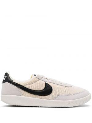 Markowe koronkowa czarny top Nike