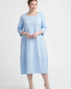 Платье - голубое Larro
