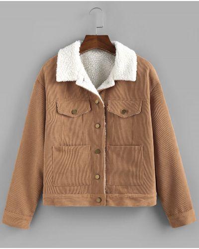 Куртка вельветовая Zaful
