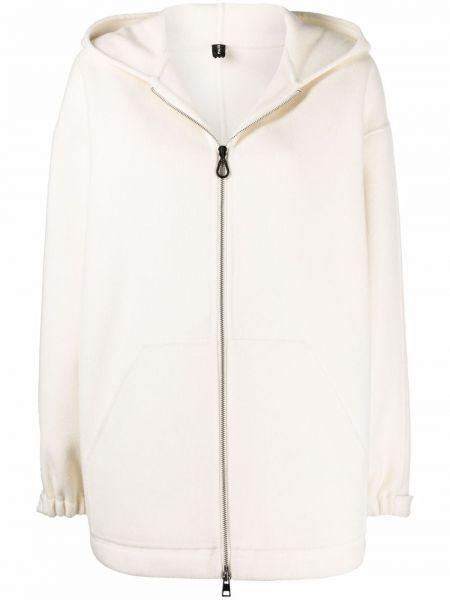 Белое пальто с карманами PaltÒ