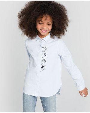 Блуза из поплина Ostin