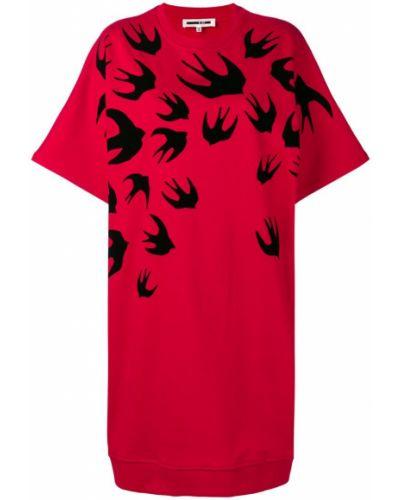 Платье мини миди теплое Mcq Alexander Mcqueen