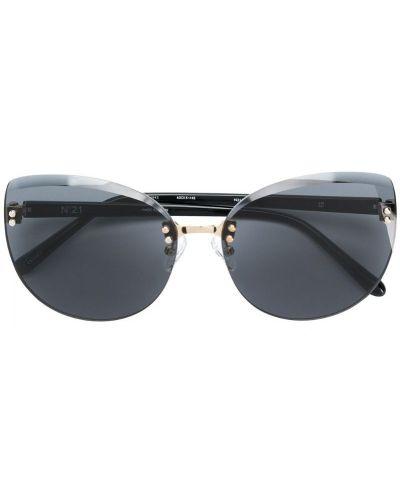 Солнцезащитные очки металлические для зрения N21