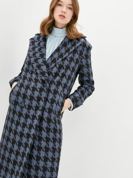 Пальто - синее Solou