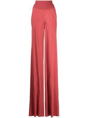 Spodnie z wysokim stanem Rick Owens