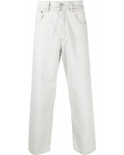 Klasyczne niebieskie jeansy z paskiem Acne Studios