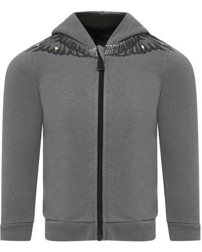 Szary sweter bawełniany Marcelo Burlon