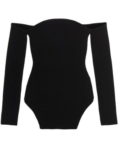 Czarny sweter Khaite