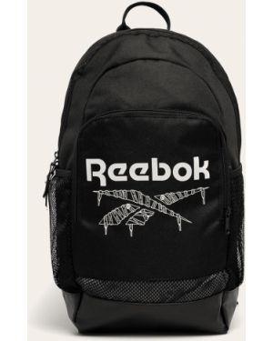 Klasyczny czarny plecak z printem Reebok Classic