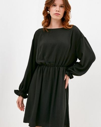 Прямое черное платье Ichi