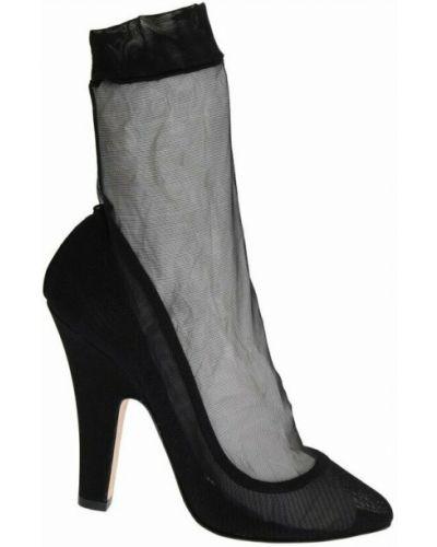 Klasyczne czarne skarpety Dolce And Gabbana