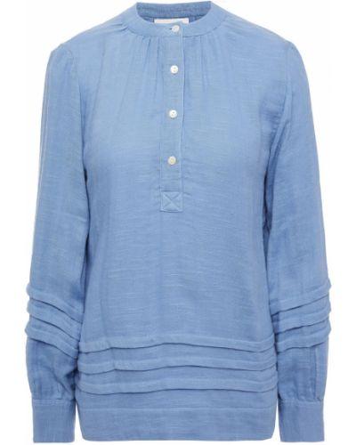 Niebieska koszulka bawełniana Antik Batik