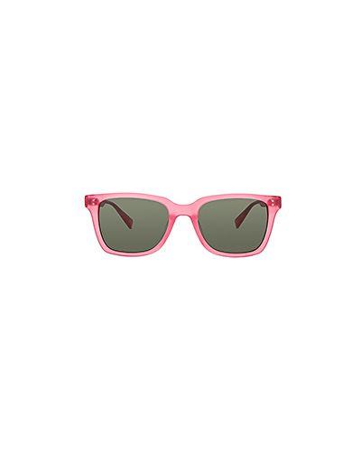 Розовые солнцезащитные очки Stussy