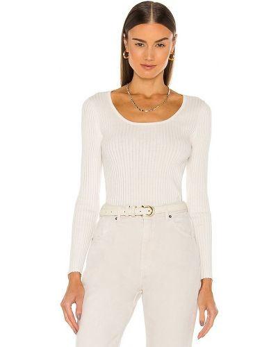 Пуховый свитер - белый Rolla's