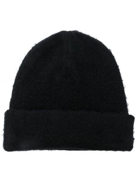 Czarna czapka wełniana Acne Studios
