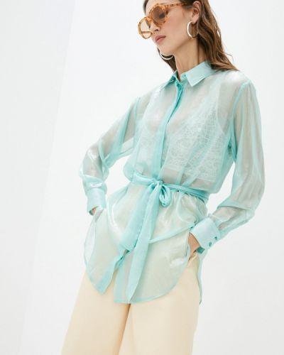 Зеленая блузка с длинными рукавами Imperial