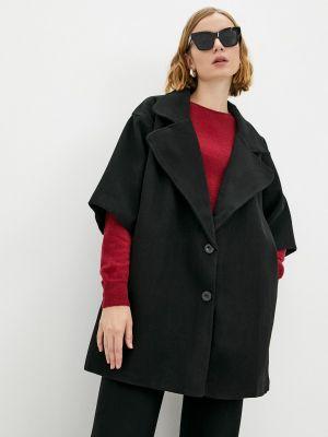 Черное хлопковое пальто Fresh Cotton