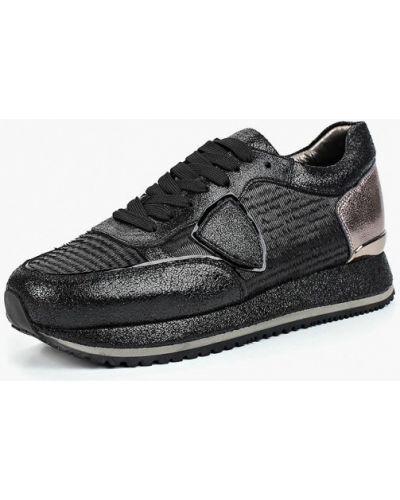 Черные кроссовки низкие Winzor