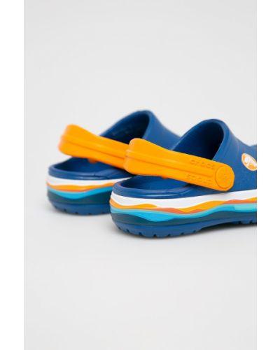 Шлепанцы детский синие Crocs