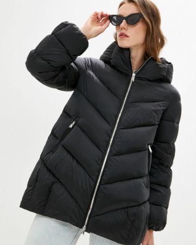 Черная зимняя куртка Add