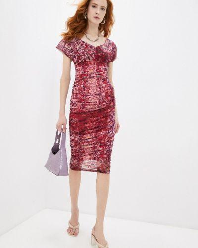 Платье - красное Fuzzi
