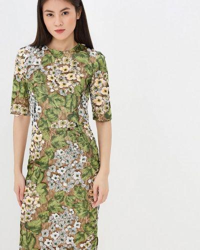 Повседневное платье весеннее зеленый Madam T