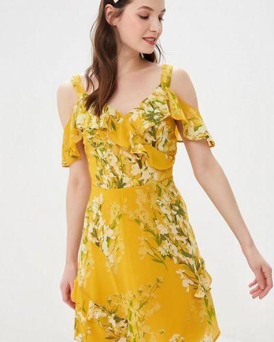 Платье с открытыми плечами весеннее Dorothy Perkins