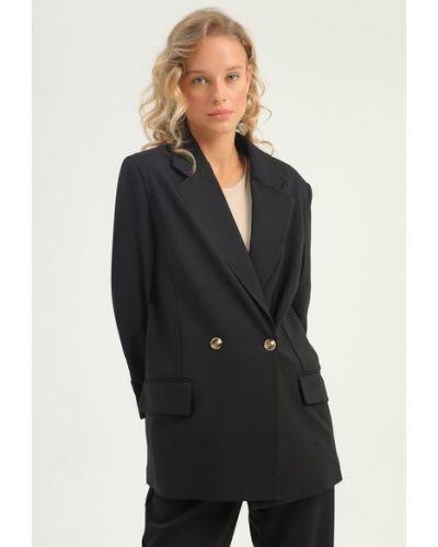 Пиджак оверсайз - черный Rozetka
