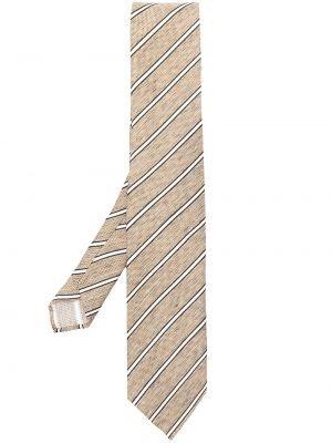 Krawat z jedwabiu z printem Lardini