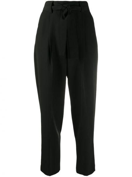 Со стрелками зауженные черные зауженные брюки Pt01
