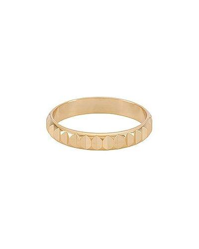 Złoty pierścionek pozłacany na co dzień Shashi
