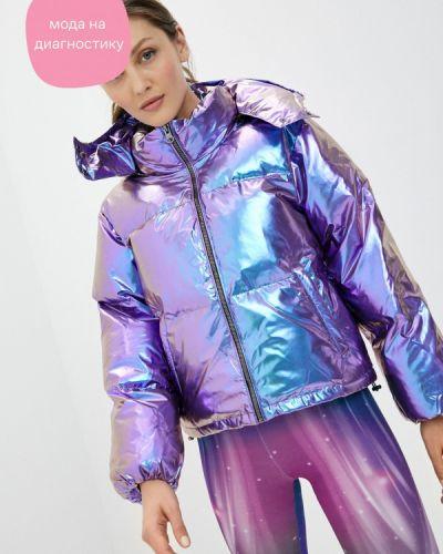 Фиолетовая теплая куртка Boxeur Des Rues