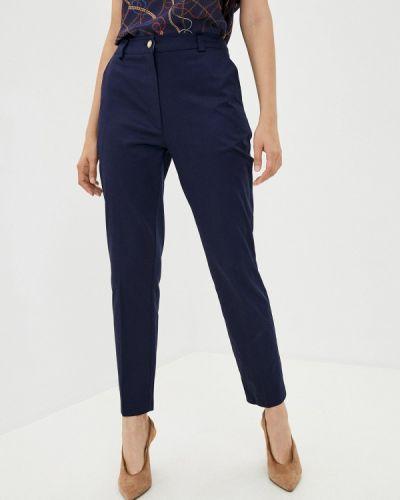 Классические синие классические брюки Lusio